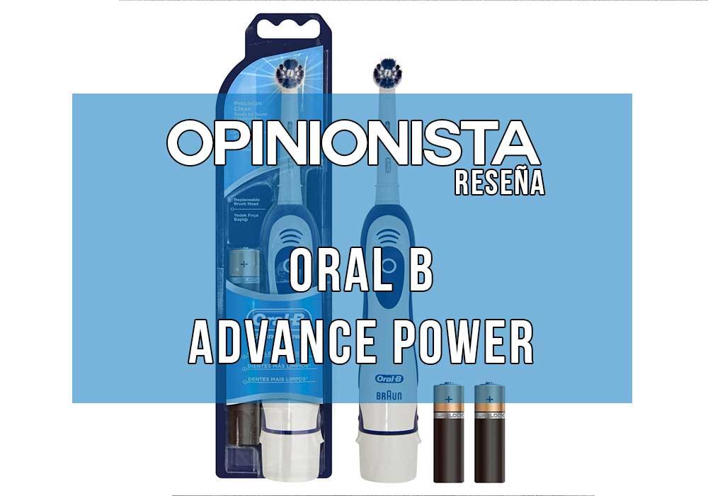 Oral B Advance Power cepillo electrico oral b barato