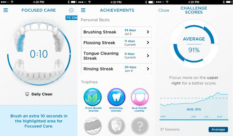 oral-b-genius-9000-el mejor cepillo Oral B-app