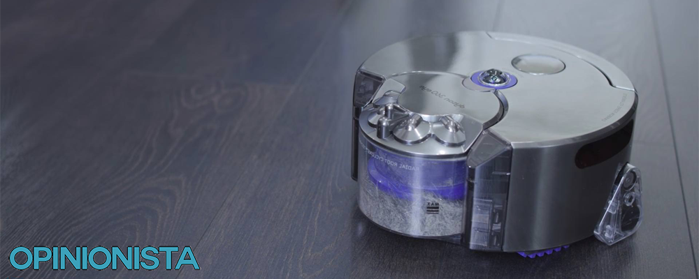 Dyson 360 Eye aspiradora silenciosa diseño
