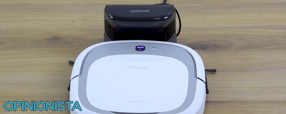 Ecovac Deebot Slim2 robot aspirador barato Base De Carga