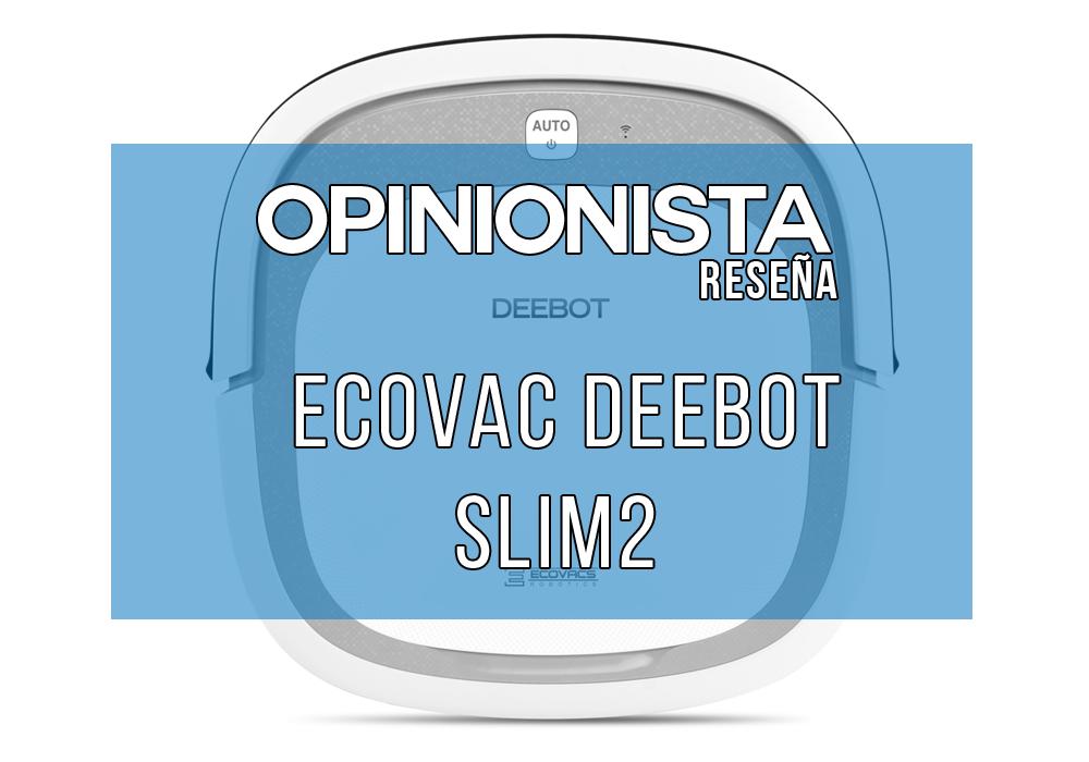 Ecovac Deebot Slim2 robot aspirador barato Principal
