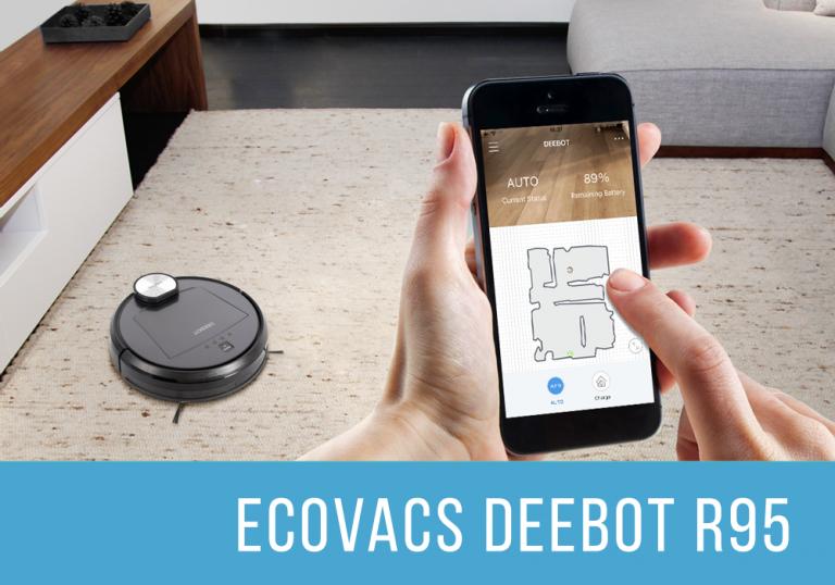 Ecovacs Deebot R95 robot aspirador y fregasuelos Destacado