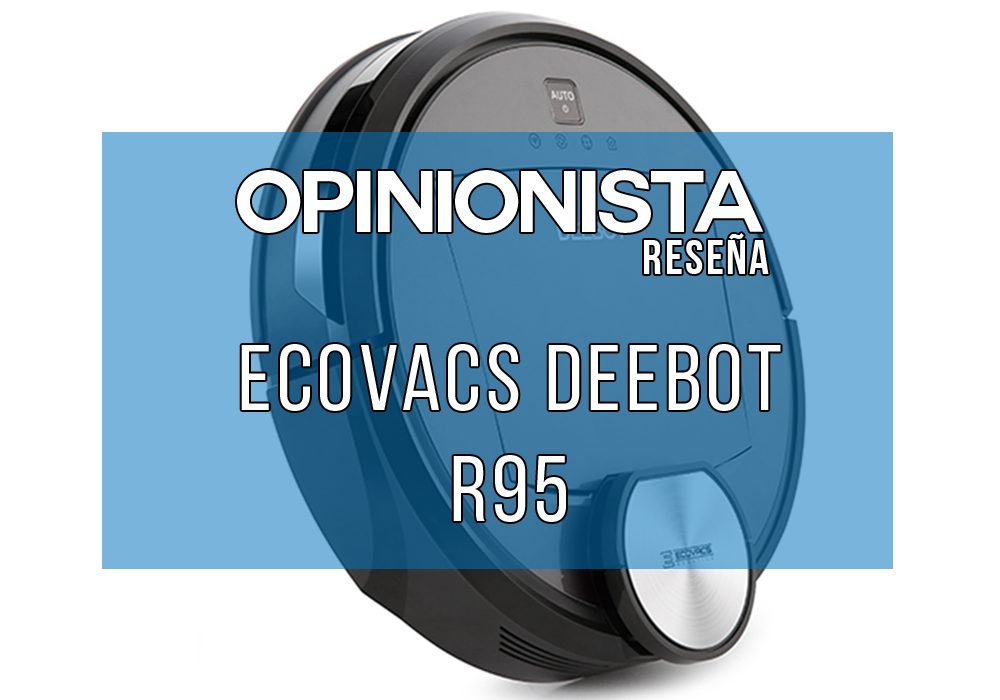 Ecovacs Deebot R95 robot aspirador y fregasuelos Principal