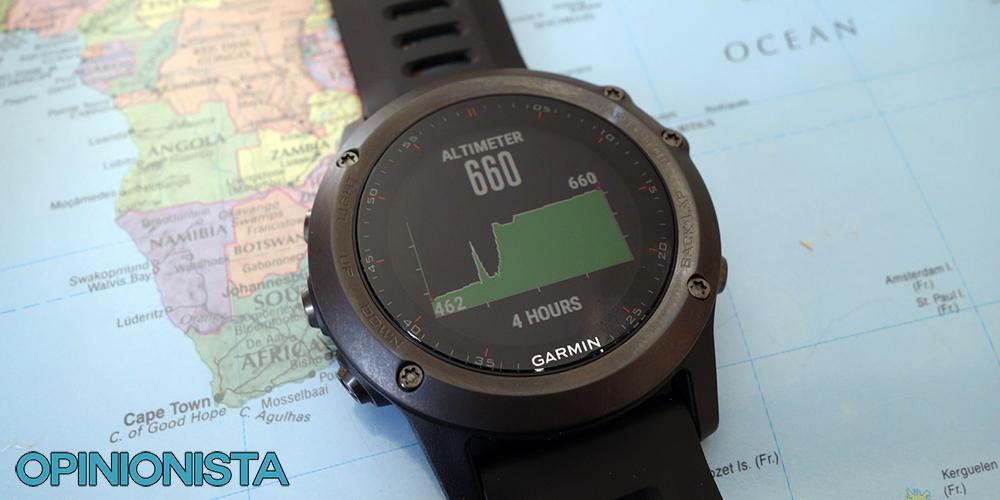 4cc61299e4b5 Garmin Fenix 3 reloj de entrenamiento altímetro