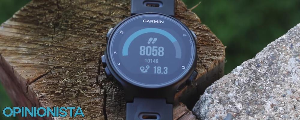 Garmin Forerunner 735XT reloj para triatlón pasos