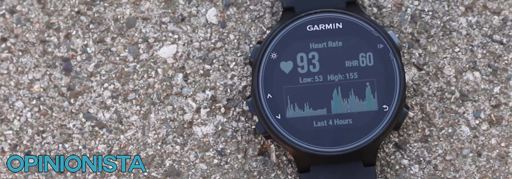 Garmin Forerunner 735XT reloj para triatlón latidos