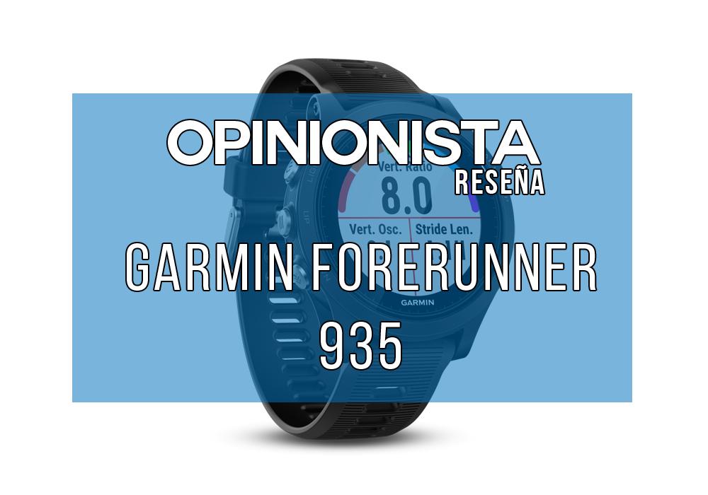 Reloj para correr Garmin Forerunner 935 portada