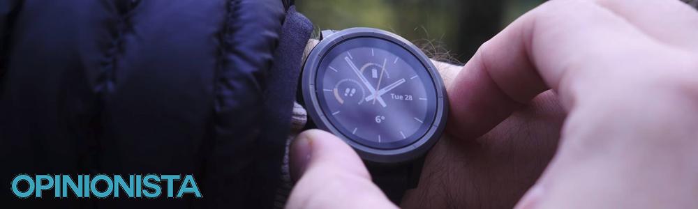 Garmin Vivoactive 3 reloj con pulsómetro integrado brazo