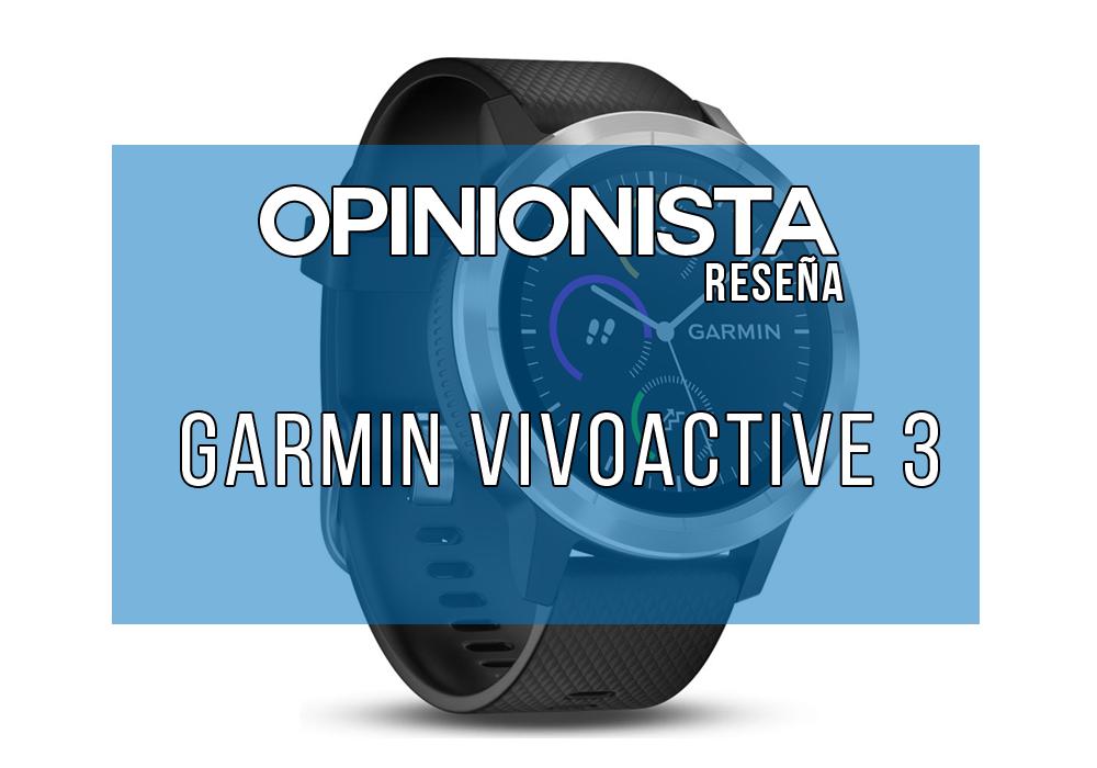 Garmin Vivoactive 3 reloj con pulsómetro integrado principal