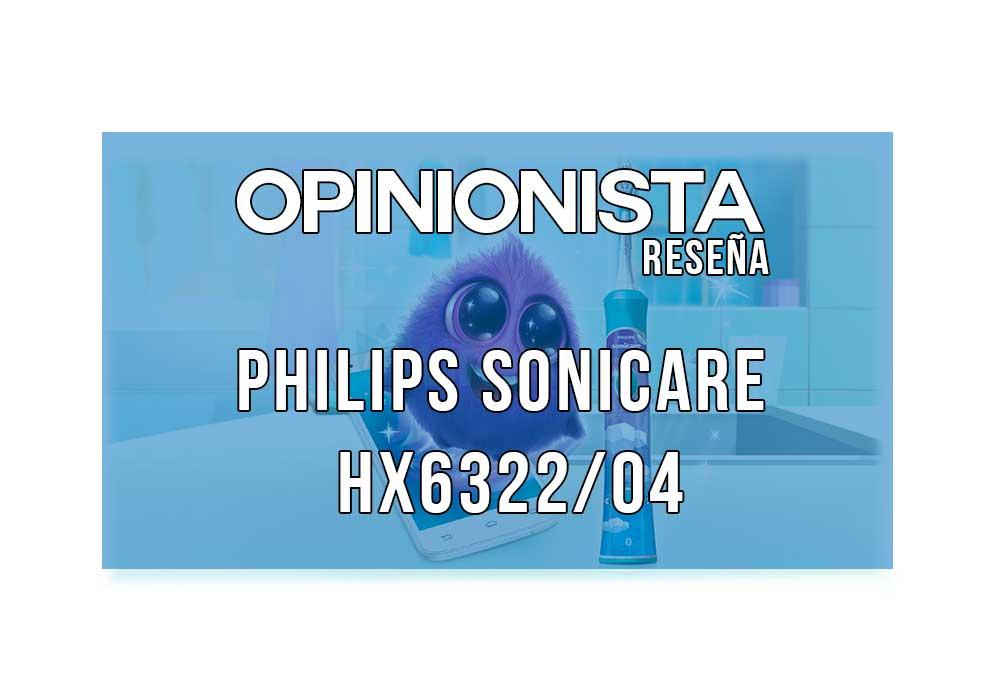 Cepillo eléctrico infantil Philips Sonicare HX6322/04 portada