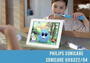 Cepillo eléctrico infantil Philips Sonicare HX6322/04 featured