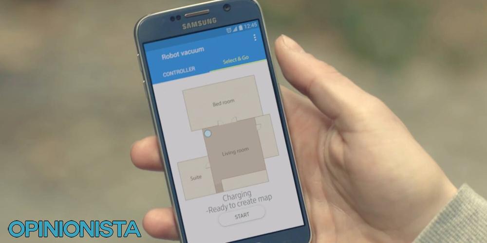 aspiradora robot samsung App