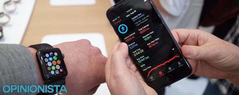 Apple Watch 3 reloj de natación conectado iphone