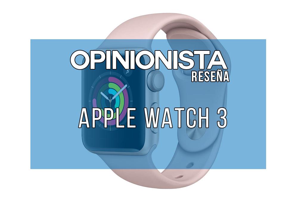 Apple Watch 3 reloj de natación principal