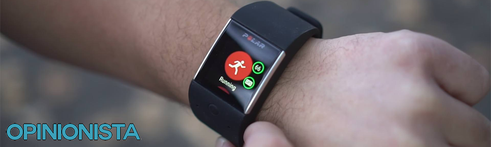 El Smartwatch barato Polar M600 corriendo