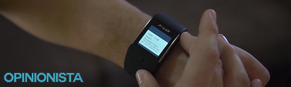El Smartwatch barato Polar M600 en la muñeca