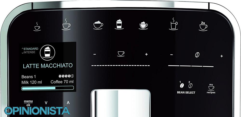 Melitta Caffeo Barista TS cafetera superautomática pantalla
