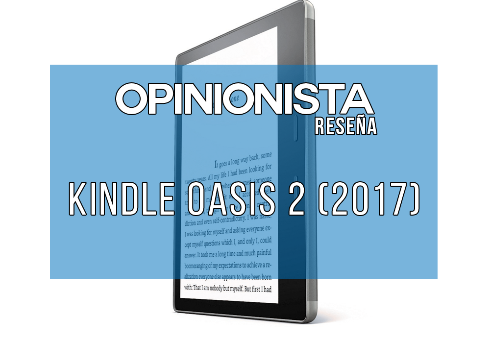 Kindle Oasis 2 mejor lector ebook